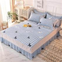 Bed skirt cotton Elegant and fresh, blooming flowers, fashion Fangte, happy cat, love Xiaoxi, Los Angeles grey, mocha life, ode to autumn wind Other / other Others D23556