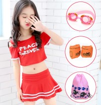 Children's swimsuit / pants - It is recommended to weigh 95-110cm 23-35kg, 110-125cm 35-45kg, 125-135cm 45-55kg, 130-145cm 55-65kg, 145-150cm 65-85kg and 150-165cm 85-98kg Children's split swimsuit female polyester fiber