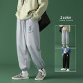 Casual pants Others Youth fashion Black, light grey M. L, XL, 2XL, 3XL, 4XL, 5XL, s small, XS plus small routine trousers Other leisure easy Four seasons teenagers Youthful vigor 2021 Little feet Sports pants