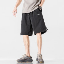Casual pants Others Youth fashion Gray, black S. M, l, XL, 2XL, 3XL, 4XL, 5XL, XS plus small Pant Other leisure easy