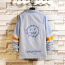 Jacket Other / other Youth fashion Gray, off white M. L, XL, 2XL, 3XL, XS plus small, s small, 4XL, 5XL easy Other leisure spring