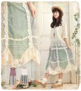 Dress Summer 2017 White, purple Average size Middle-skirt singleton  Sleeveless Sweet Crew neck Loose waist Broken flowers Socket A-line skirt routine Others 18-24 years old Type A 81% (inclusive) - 90% (inclusive) knitting cotton Mori