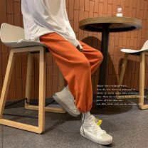 Casual pants Others Youth fashion Black, gray, blue, purple, orange M,L,XL,2XL Ninth pants Other leisure easy