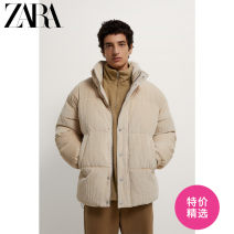 cotton-padded clothes Beige ZARA L-XL (175/92A) S-M (170/88A) Fashion City routine routine standard Other leisure Cotton 100% youth Youthful vigor Cloth hem Winter 2020 Solid color Side seam pocket Same model in shopping mall (sold online and offline) other polyester fiber winter More than 95%