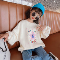 Sweater / sweater Princess Yuanyuan Yellow, green, beige female The recommended height is about 100-110cm for Size 110, 110-120cm for Size 120, 120-130cm for Size 130, 130-140cm for size 140, 140-150cm for size 150 and 150-160cm for size 160 spring and autumn nothing Korean version Socket routine