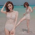 one piece  VVV XL,L,M white Skirt one piece Steel strap breast pad other female Sleeveless Casual swimsuit