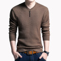 T-shirt / sweater Others Youth fashion Thin money Socket V-neck Long sleeves autumn easy go to work tide youth routine Solid color washing Regular wool (10 stitches, 12 stitches) other