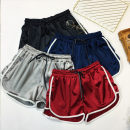 Casual pants Grey, blue, Burgundy, black S,M,L,XL,2XL,3XL,4XL,5XL shorts Wide leg pants High waist commute routine 18-24 years old Other / other Korean version