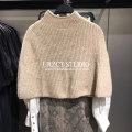 Wool knitwear Autumn 2020 S,M,L Sand color singleton  Socket other 81% (inclusive) - 90% (inclusive) have cash less than that is registered in the accounts STEO&UR