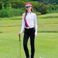 Golf apparel S,M,L,XL,XXL female G-LIFE Long sleeve T-shirt