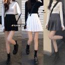 skirt Spring 2021 S, M Dark grey, white, black