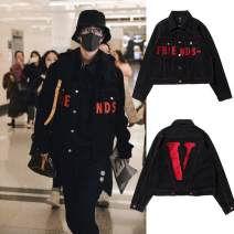 Jacket Vlone life Youth fashion S,M,L,XL standard Other leisure Four seasons Long sleeves shirt sleeve
