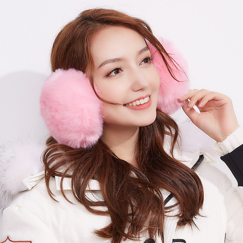 Earmuff Watermelon red Khaki coffee grey black pink white other IEZ-1001 DSOG Autumn and winter 2017 yes