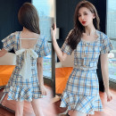 Fashion suit Summer 2021 S M L XL Plaid suit 18-25 years old Ciaso X21A446 51% (inclusive) - 70% (inclusive) Other 100% Same model in shopping mall (sold online and offline)