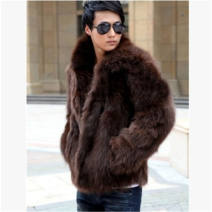 leather clothing Others other Black, white, brown M. L, XL, XXL, XXXL, 4XL, 5XL, 6xl routine leather and fur Lapel Slim fit Single breasted tide