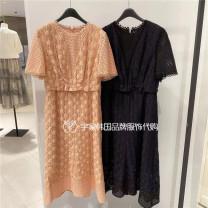 Dress Spring 2021 Pink SC, black BK 44,55,66 Other / other