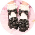 Low top shoes 35 36 37 38 39 40 Old Dong family Round head Flat heel Superfine fiber Shallow mouth Middle heel (3-5cm) Superfine fiber Spring 2017 Napa