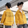 Plain coat Yahui Tongshang male The recommended height is 100cm for Size 110, 110cm for Size 120, 120cm for Size 130, 130cm for size 140, 140cm for size 150 and 150cm for size 160 Yellow, black spring and autumn leisure time Single breasted There are models in the real shooting routine nothing other