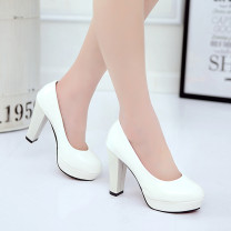 Low top shoes 34,35,36,37,38,39,40,41,42 Other / other White, red, black, apricot, beige, white B1 heel, black B1 heel, red B1 heel, white 216 heel, black 216 heel, apricot 216 heel, red 216 heel, black b318, white 319, black 319 Round head PU Thick heel High heel (5-8cm) Shallow mouth PU Spring 2016