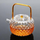 teapot Heat resistant glass other Hand painted yes Bright hammer 601ml (inclusive) - 700ml (inclusive) Japanese  like a breath of fresh air 0.2kg