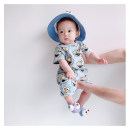 Jumpsuit / climbing suit / Khaki Other / other Class A currency 59cm, 66cm, 73cm, 80cm, 90cm, 100cm, the number of yards is too small, it is recommended to take a big one cotton summer Short sleeve Short climb Cartoon There are models in the real shooting nothing Socket Chinese Mainland