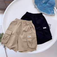 trousers Other / other male 100cm (tag 5), 110cm (tag 7), 120cm (tag 9), 130cm (tag 11), 140cm (tag 13) Black, Khaki summer Pant leisure time No model Casual pants Leather belt middle-waisted cotton Don't open the crotch Cotton 95% polypropylene fiber 5% Class B