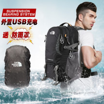 Backpack Other / other Light Grey Black Red Navy 40L (air cushion system) 50L (air cushion system) 60L (air cushion system) For men and women eight thousand and eighty-eight Three hundred and ninety-eight General camping / hiking yes oxford other yes Air cushion strap China Inner shelf bag