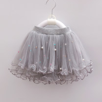 skirt Other / other female Polyester 80% other 20% No season skirt princess Solid color other polyester fiber Class B