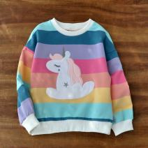 Sweater / sweater Other / other Rainbow horse female Suitable for height 95-105cm (sign 110), suitable for height 105-115cm (sign 120), suitable for height 115-125cm (sign 130), suitable for height 125-135cm (sign 140), suitable for height 135-145cm (sign 150) spring and autumn nothing leisure time