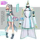 Cosplay women's wear suit Customized Over 14 years old Animation, games 50. M, s, XL, customized CGCOS Japan Lovely wind, Yu Jie fan