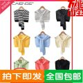 Scarf / silk scarf / Shawl other Spring and autumn, summer, winter female Shawl multi-function Korean version triangle Students, youth, middle age stripe 36cm 86cm Zehnger 19SJ957