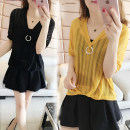 T-shirt Yellow top + suspender, black top + suspender, white top + suspender, yellow top + suspender + trouser skirt, black top + suspender + trouser skirt, white top + suspender + trouser skirt M [80-100 Jin], l [100-120 Jin], XL [120-140 Jin], 2XL [140-160 Jin], 3XL [160-180 Jin], 4XL [180-200 Jin]