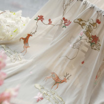 Hanfu 96% and above Summer of 2018 polyester fiber