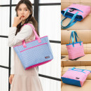 Bag The single shoulder bag canvas Tote Bag Gaelaou / jiluo brand new Japan and South Korea large leisure time soft zipper yes Solid color Double root