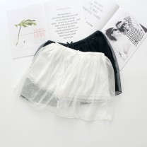 underpants female White, black Average size Other / other 1 cotton boxer middle-waisted Sweet Solid color youth 81% (inclusive) - 95% (inclusive) Cotton fabric Safety trousers lesbian