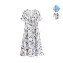 Dress Summer of 2019 S,M,L Mid length dress singleton  Decor