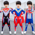 Clothes & Accessories Spider-Man A / blue, a / red, B / blue, B / black, Jack, Severn Halloween children Movie characters Ultraman nothing 120 yards