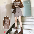 Fashion suit Autumn 2020 S,M,L,XL Shirt, suspender, skirt 18-25 years old Other / other 96% and above