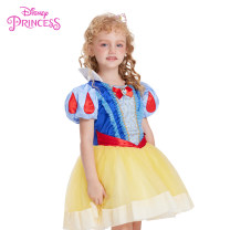 Dress female Polyester 100% summer princess Short sleeve Solid color other Cake skirt Class B Spring of 2019 3 years old, 4 years old, 5 years old, 6 years old, 7 years old, 8 years old, 9 years old, 10 years old, 11 years old Chinese Mainland