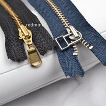 zipper The black belt of No.3 gold copper closed tail is 14cm, and the dark blue belt of No.3 white copper closed tail is 18cm YKK