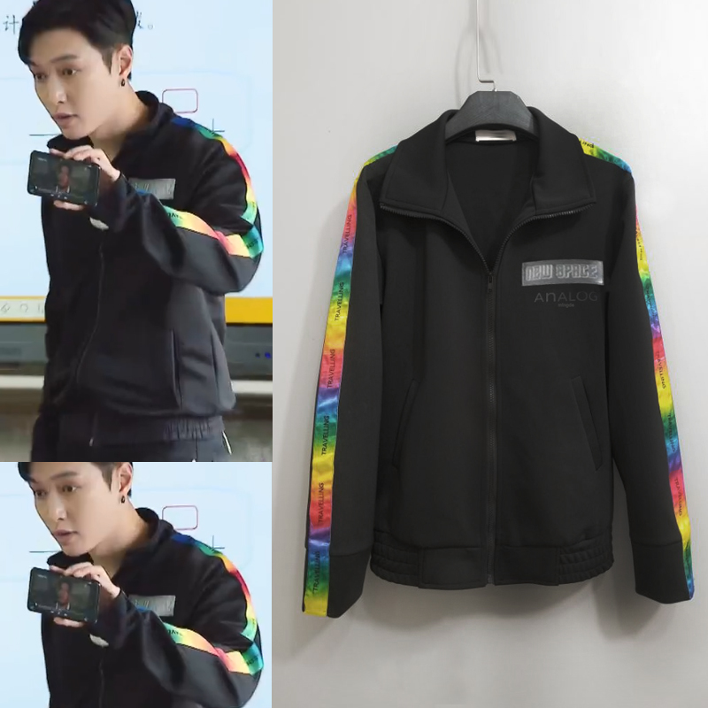 Jacket Other / other Youth fashion black S M L XL 2XL 3XL standard Other leisure summer