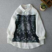 shirt Black, white Average size Spring 2020 hemp 96% and above Regular