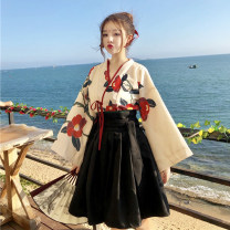 Fashion suit Summer of 2019 One size fits all, XXS pre-sale Top, skirt, skirt 18-25 years old Other / other