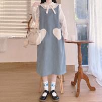 Fashion suit Autumn 2020 Average size Shirt, suspender, skirt 18-25 years old