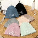Hat Wool One size fits all Wool / knitted hat Spring, autumn, winter currency leisure time dome No eaves letter Shopping