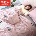 Bedding Set / four piece set / multi piece set NGGGN cotton 4 pieces 40 cotton other stripe 128x68 1.5m bed [quilt cover 200x230cm sheet 230x245cm] 1.8m bed [quilt cover 200x230cm sheet 230x245cm] Sheet type Qualified products Simplicity 100% cotton twill pigment printing  xksjt002 Thermal storage
