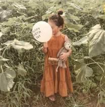 Dress Apricot, orange female Other / other 80cm,90cm,100cm,110cm,120cm,130cm Cotton 55% flax 45% summer Korean version Skirt / vest Solid color Cotton and hemp A-line skirt 2 years old, 3 years old, 4 years old, 5 years old, 6 years old, 7 years old, 8 years old