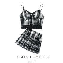 Fashion suit Summer 2021 S,M,L Suspender, skirt 71% (inclusive) - 80% (inclusive)