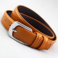 Belt / belt / chain Pu (artificial leather) Red [wp86] coffee [wp86] camel [wp86] white [wp86] Khaki [wp86] black [wp86] female belt Versatile Single loop Middle aged youth Pin buckle Glossy surface Glossy surface 2.8cm alloy WP86