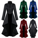 Cosplay men's wear jacket goods in stock The fashion of clothes Over 14 years old Dovetail skirt [black], dovetail skirt [red], dovetail skirt [blue], dovetail skirt [green] comic S,M,L,XL,XXL,XXXL